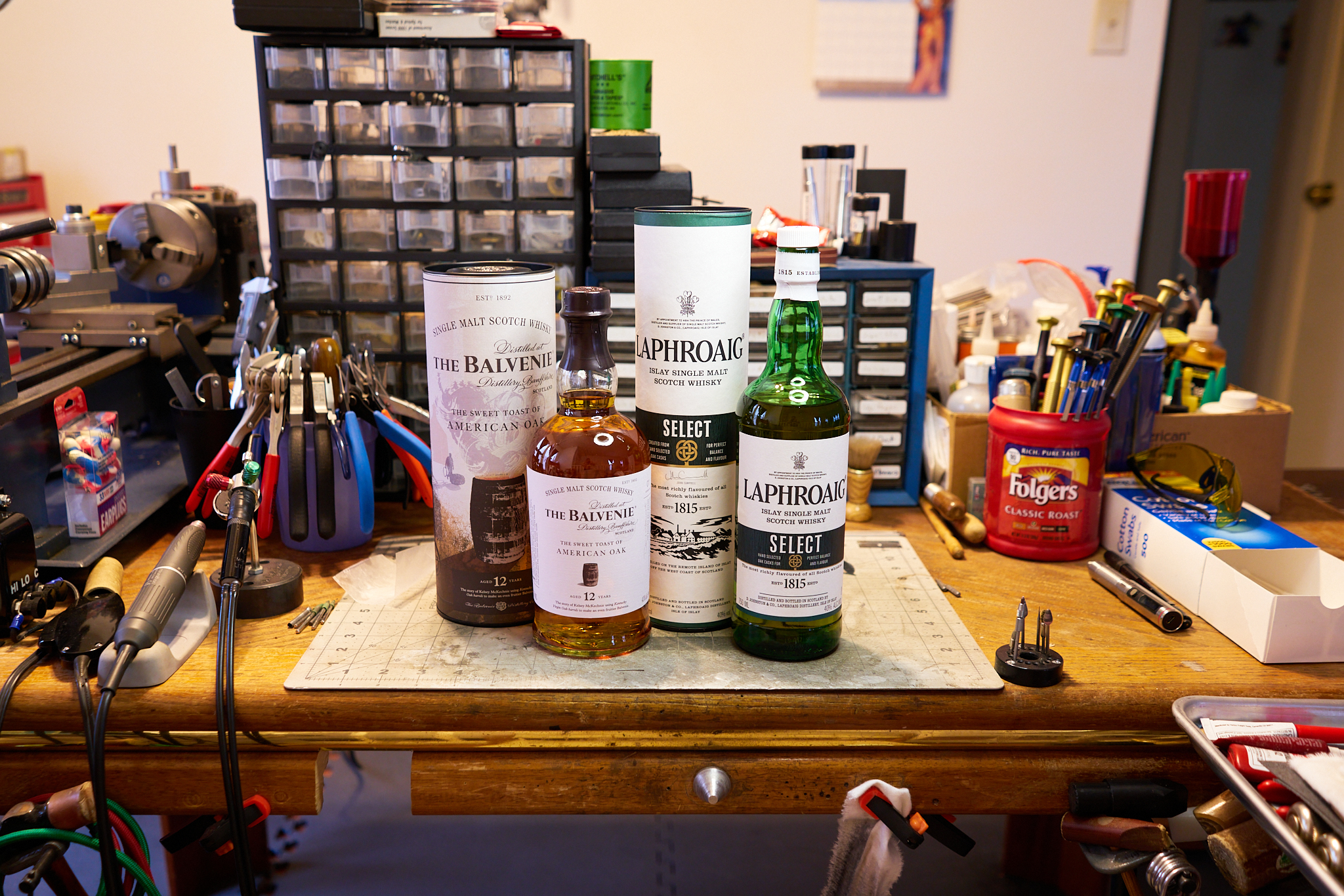 Sony A7RII shots of my favorite whiskeys.