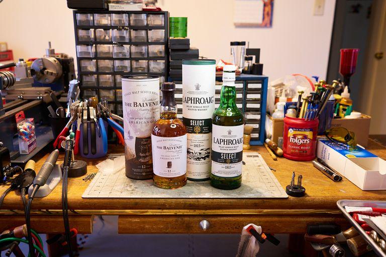Sony A7RII shots of my favorite whiskeys.