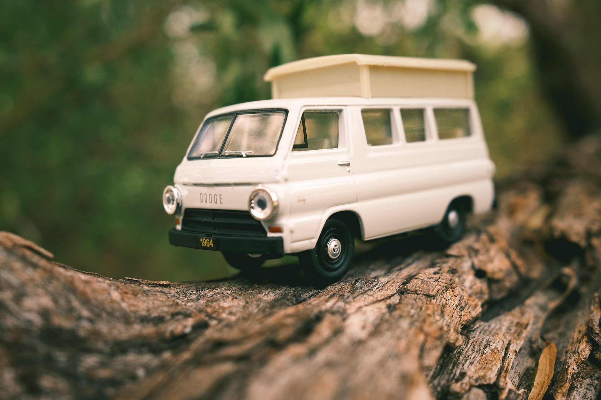 Forced Perspective: Toy Van