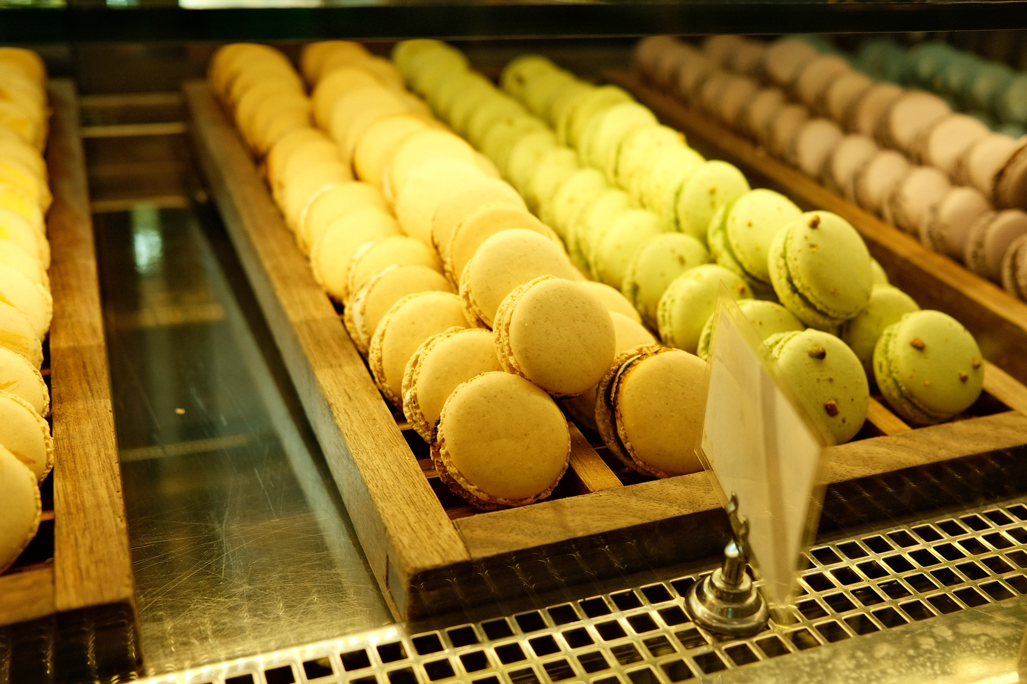 Bakery Lorraine -- Amazing melt-in-your-mouth-macrons...